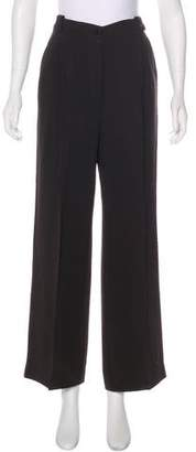 Emporio Armani High-Rise Flared Pants