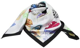 Kenzo Silk White Foulard