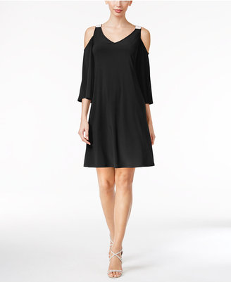 Msk Embellished Cold-Shoulder Dress $69 thestylecure.com