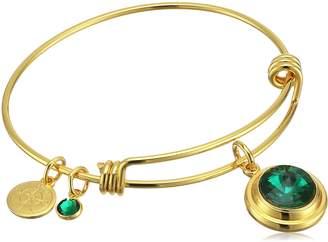 Michael Kors Halos & Glories, May Crystal Bangle Bracelet