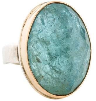 Jamie Joseph Vertical Aquamarine Ring