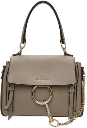 Chloé Grey Mini Faye Day Bag