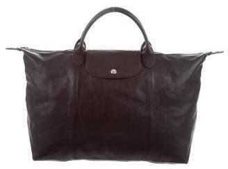Longchamp Le Pliage Cuir Large Bag