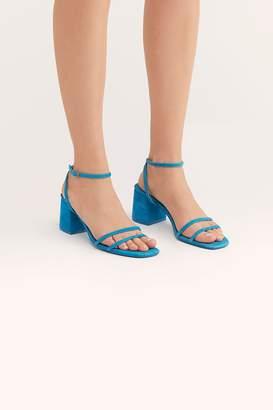 Fp Collection Gabby Block Heel