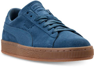 Puma Men's Suede Classic Natural Warmth Casual Sneakers from Finish Line