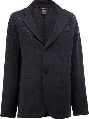 Avant Toi distressed linen blazer