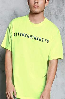 Forever 21 Late Night Habits Graphic Tee