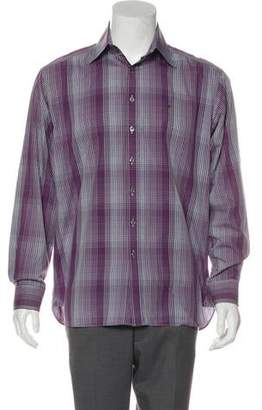Burberry Equestrian Knight Device Embroidered Shirt