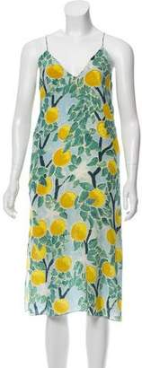 WHIT Sleeveless Printed Midi Dress w/ Tags