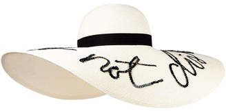 Eugenia Kim Floppy Sunhat with Embroidery