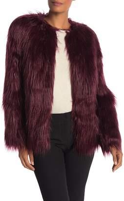 Trina Turk Shop Girl Faux Fur Jacket