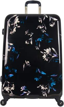 """Aimee Kestenberg Midnight Floral 28"""" Spinner Checked Suitcase"""