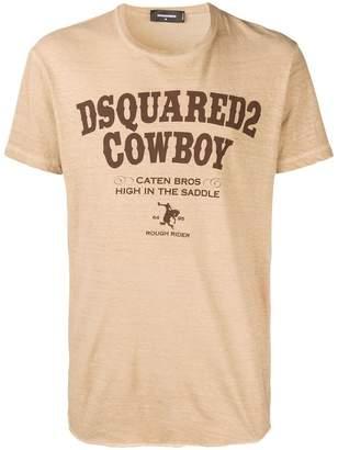 DSQUARED2 Cowboy print T-shirt