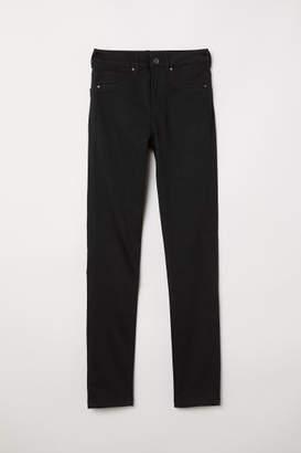 H&M Skinny High Waist Jeggings - Black