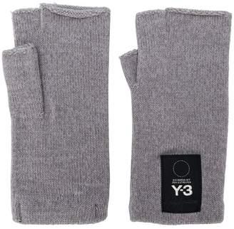 Y-3 fingerless gloves