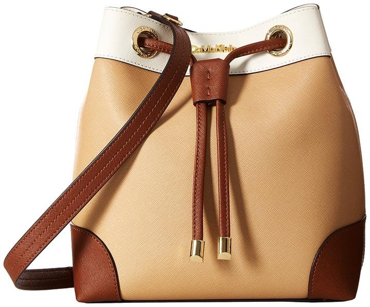 Calvin KleinCalvin Klein Key Items Saffiano Bucket