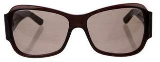 Bottega Veneta Butterfly Square Sunglasses