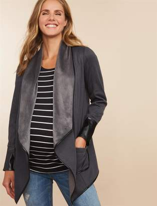 Motherhood Maternity Cascade Maternity Coat