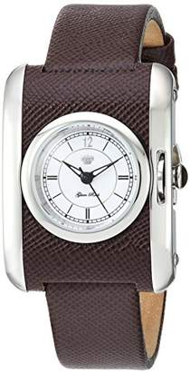 Glam Rock Women's GR80002 Icon Analog Display Swiss Quartz Brown Watch