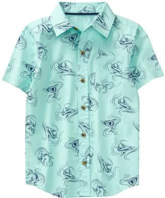 Crazy 8 Crazy8 Shark Print Shirt