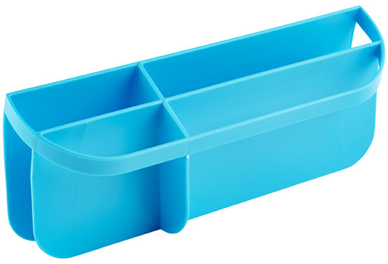 Container Store Wide Mouth Insert Blue