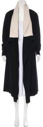 Alexander McQueen Knit Long Coat