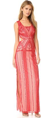 Parker Parker Black Livy Gown $650 thestylecure.com