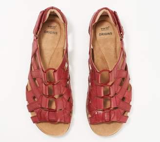 Earth Origins Leather Gladiator Sandals - Belle Bridget