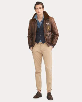 Ralph Lauren The Iconic G-1 Bomber Jacket