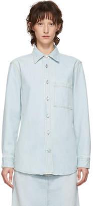 Acne Studios Blue Bla Konst Denim Tar Shirt
