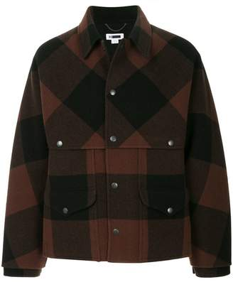 H Beauty&Youth checked jacket