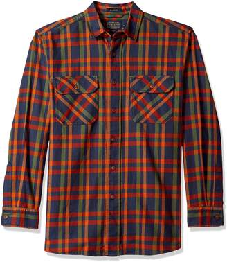 Pendleton Men's Long Sleeve Button Front Burnside Shirt