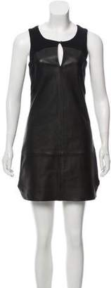 Rebecca Minkoff Leather Mini Dress