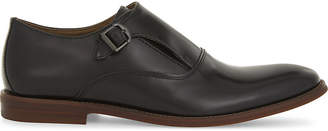 Aldo Catallo leather monk shoes