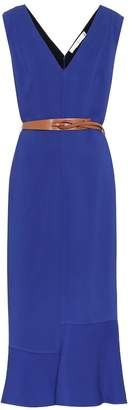 Victoria Beckham Stretch-jersey midi dress