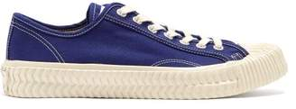 Excelsior Bolt Low Top Canvas Trainers - Mens - Blue