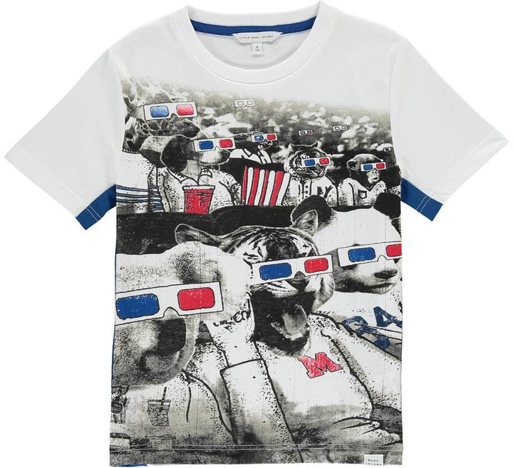 Little Marc JacobsLITTLE MARC JACOBS 3D Cinema Koala T-Shirt