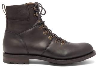 Cheaney Ingleborough B Lace Up Leather Boots - Mens - Brown