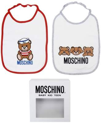 Moschino OFFICIAL STORE Bib set