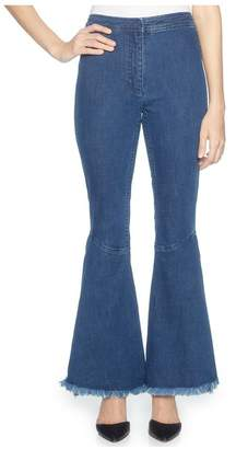 Magaschoni Denim Flare Pant