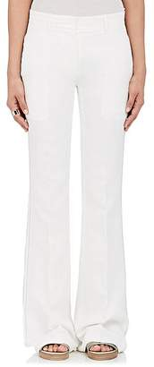 Calvin Klein Women's Embroidered Flared Trousers