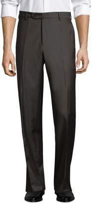 Zanella Devon Flat Front Wool Trousers