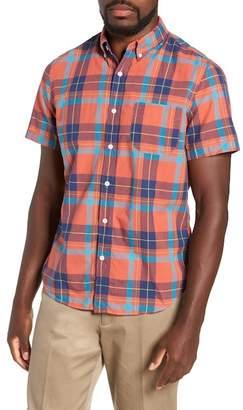 J.Crew J. Crew Regular Fit Madras Plaid Sport Shirt