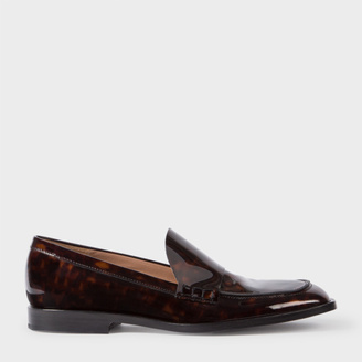 Women's Tortoiseshell Patent Leather 'Hasties' Loafers $325 thestylecure.com