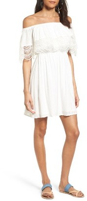 Women's Lush Off The Shoulder Dress $55 thestylecure.com