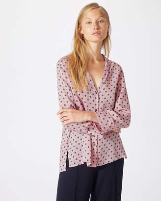 Jigsaw African Spot Silk Shirt