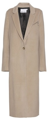 T by Alexander Wang Wool and cashmere coat