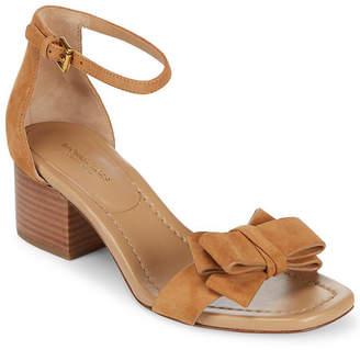 Michael Kors Winnie Suede Ankle-Strap Sandal