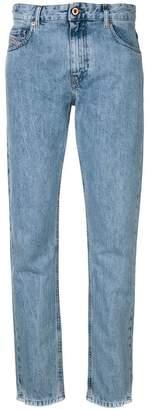 Diesel loose fit distressed jeans
