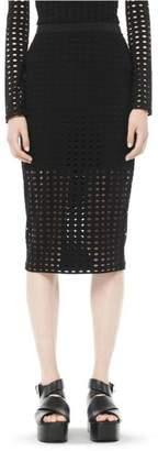 Alexander Wang Circular Jersey Skirt